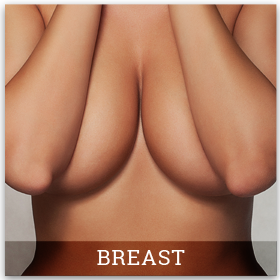 Block duck in breast with surgery