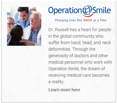 Click here to learn more about Dr Russel and Operation Smile